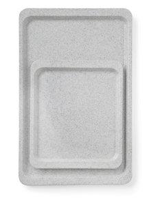 Hendi Dienblad Graniet | Stapelbaar | Keuze uit 2 maten