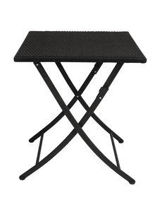 Bolero Opklapbare Vierkante Rotan Tafel | 60x60x(H)71cm