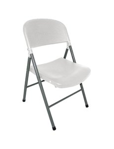 Bolero Opklapbare stoel | Polypropyleen | Zithoogte 45cm  | Per 2 stuks