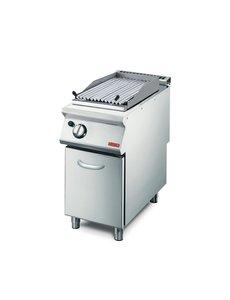 Gastro-M Gas Lavasteen Grill | Gastro M 700 Plus | 7,6kW | 40x70x(H)85cm
