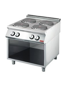 Gastro-M Elektrisch Fornuis  | 4-pits | Gastro M 700 Plus | 80x70x(H)85cm