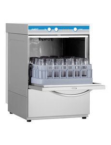 Elettrobar Glazenspoelmachine met Naglanspomp | Korven 35x35cm.  | Fast 35 | 230V