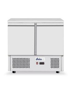 Arktic Hendi Koelwerkbank met 2 Deuren | Kitchen Line | 300 L. | 900x700x(h)880mm