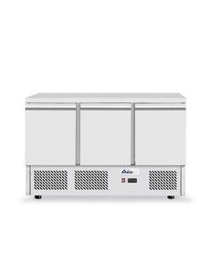 Arktic Hendi Koelwerkbank met 3 Deuren | Kitchen Line | 380 L. | 1365x700x(h)880mm