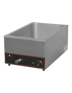 CaterChef Bain marie met aftapkraan tot max. 150 mm Diep | 1200W