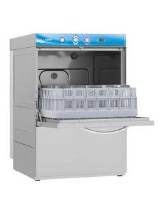 Elettrobar Glazenspoelmachine  met Naglanspomp | Korven 40x40cm.  | Fast 40 | 230V