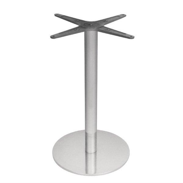 Bolero Tafelpoot | RVS |Ø40x(H)68cm