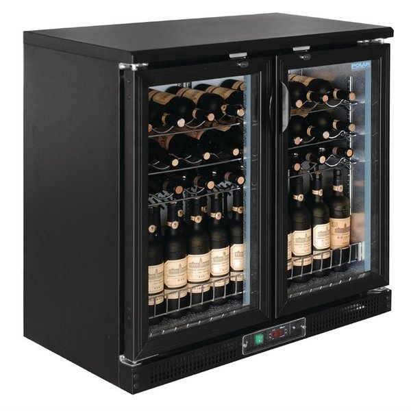 Polar Polar G-serie Horizontale Wijnkoeling met Klapdeuren voor 56 Flessen