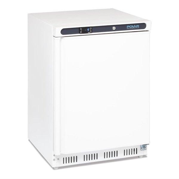 Polar Polar C-serie Witte Tafelmodel Vrieskast 140 Liter | -25°C tot -10°C | 85Hx60x60cm.