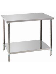 Bartscher Werktafel 700 met Onderblad | RVS | B 1.000 x D 700 x H 900 mm