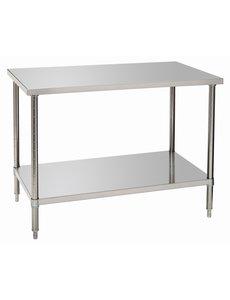 Bartscher Werktafel 700 met Onderblad | RVS | B 1.200 x D 700 x H 900 mm