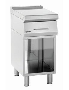 Bartscher Werktafel met onderbouw | Inclusief lade | 40x70x(H)85cm