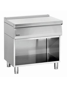 Bartscher Werktafel met onderbouw | Inclusief lade | 80x70x(H)85cm