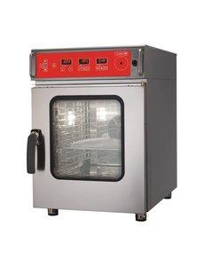 Gastro-M Gastro M Combisteamer met Reinigingssysteem | 6 x GN1/1 | 400 Volt | ACTIE