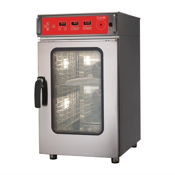 Gastro-M Gastro M Combisteamer met Reinigingssysteem | 10x GN1/1 | 400 Volt | ACTIE