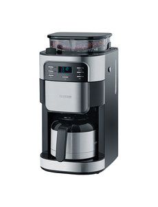 Severin Koffiezetapparaat met Koffiemolen | 3 Aromastanden | 31,5x21,5x43cm