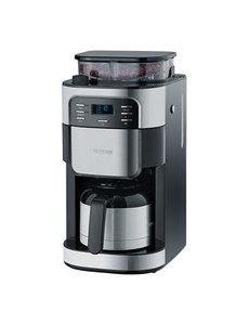 Severin Severin Koffiezetapparaat met Koffiemolen | 3 Aromastanden | 31,5x21,5x43cm