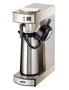 Saro Koffiezetapparaat met Thermoskan RVS   2,2 Liter   19x36x(H)55cm