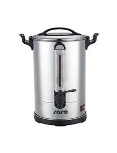 Saro Percolator 8.3 Liter | Dubbelwandig RVS | 1600W | Ø26x(H)44cm
