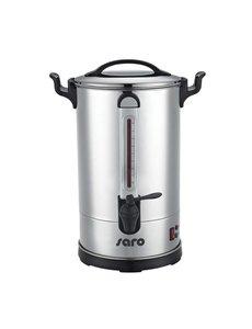 Saro Percolator 10.8 Liter | Dubbelwandig RVS | 1600W | Ø26x(H)49cm