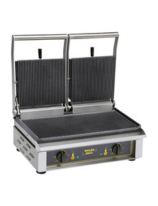 Roller Grill Roller Grill Contact Grill | Type Majestic | Dubbel Geribd  |  400V | 4000W