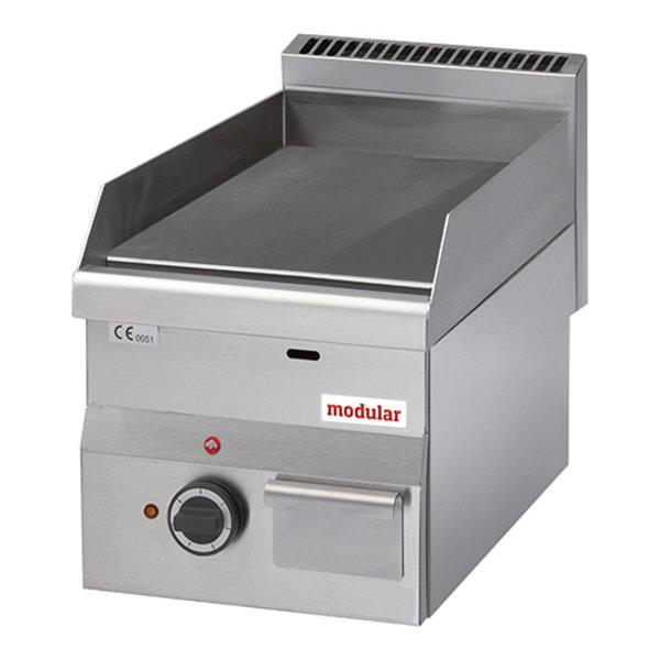 Modular Modular 600 Bakplaat Elektrisch  | Glad | 3000W | 60x30X(H)28cm