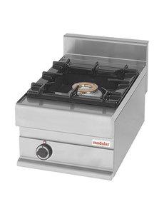 Modular Aardgas Kooktoestel met 1 Brander | 7.5kW Gas | 40x65(H)28cm