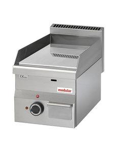 Modular Modular 600 Bakplaat Chroom  Elektrisch     Glad   3000W   60x30X(H)28cm