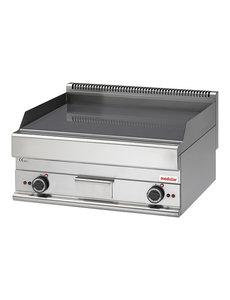 Modular Bakplaat Elektrisch | Modular 650 | Glad Chroom | 70x65x(H)28cm