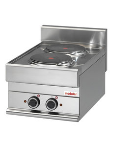 Modular Elektrisch Kooktoestel | Modular 650 | 400V | 40x65x(H)28cm