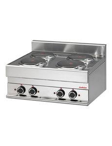 Modular Elektrisch Kooktoestel | Modular 650 | 400V | 70x65x(H)28cm