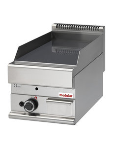 Modular Bakplaat Gas | Modular 650 | Glad Chroom | 40x65x(H)28cm