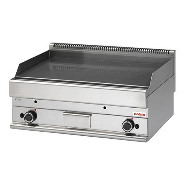 Modular Bakplaat Gas | Modular 650 | Propaan | Glad | 100x65x(H)28cm