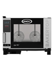 UNOX BakerTop Combisteamer MindOne | 400V/7.4kW | 4x 60x40 cm. | 68(H)x96x86cm