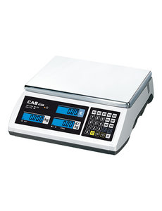 CAS CAS Rekenweegschaal Electronische 6/15 kilo | 2gr. en 5gr. Gradatie |  11(H)x35x33cm