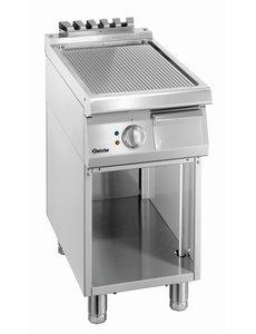 Bartscher Bakplaat Elektrisch | Bartscher | Geribd | Open Onderbouw | 40x70x(H)85cm