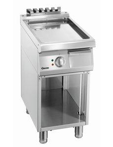 Bartscher Bakplaat Elektrisch | Bartscher | Glad | Open Onderbouw | 40x70x(H)85cm