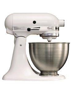 KitchenAid Professionele Planetaire Mixer K45 Wit | 4.28 Liter | 275Watt | 10 Snelheden