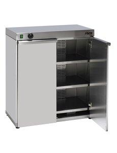 Saro Bordenwarmkast voor 120 Borden | 1500W | 5 ºC - 90 ºC | 80x46x(H)87cm