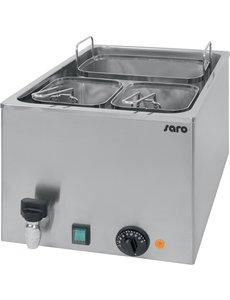 Saro Elektrische Pastakoker met Aftapkraan  | 230V/3.2kW | 34x54x(H)28cm