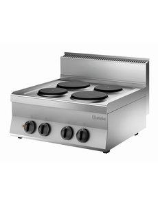 Bartscher Elektrisch Kooktoestel | Bartscher 4-pits | 400V | 70x65x29,5cm