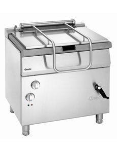 Bartscher Elektrische Kantelbare Braadpan | 50 Liter  | 400V / 10kW | 80x70xH85cm