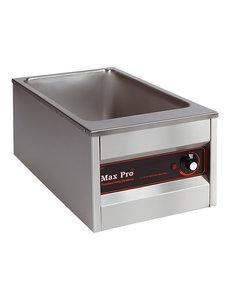 Max-Pro Bain Marie | MaxPro | 1x 1/1 GN - 200mm | 36x61x(H)30cm