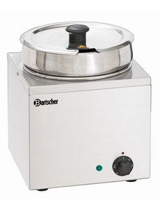 Bartscher Bain Marie Hotpot | RVS | 6,5 Liter | 25,5x28x(H)33cm