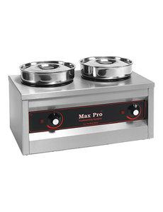 Max-Pro Chocolade Warmer | MaxPro | 2 x 4,5 liter | 50x26x(H)29cm
