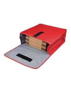 Vogue Pizza bezorgtas Vinyl | Vogue | Geïsoleerd | 45,5x45,5x(H)19,5cm