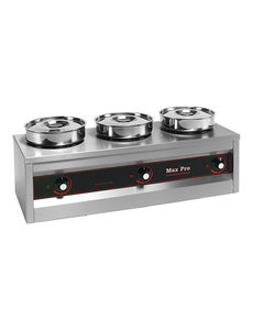 Max-Pro Thermosystem Foodwarmer Hotpot | 3x 4,5 liter
