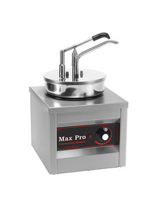 Max-Pro Sauzenwarmer met Dispenser    4,5 liter    250Watt    43(H)x26x26cm