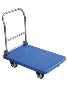 Hendi Transportwagen tot 150 kilo | 730x480x(h)825mm