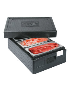 Thermo Future Box Thermo IJstransportbox | Voor 3 IJsbakken | 60x40x(H)26cm